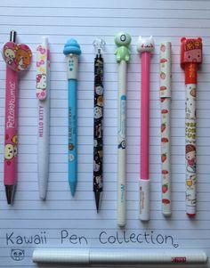 Kawaii pen collection.