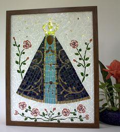 Nossa Senhora Aparecida em mosaico