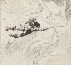 Frazetta sketches - Google Search