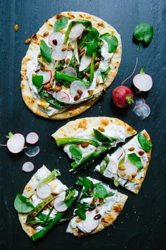 Middle-Eastern Dilled Chobani Yogurt Flatbreads with Spiced Oumpkin Seeds. Yes, yes, yes.