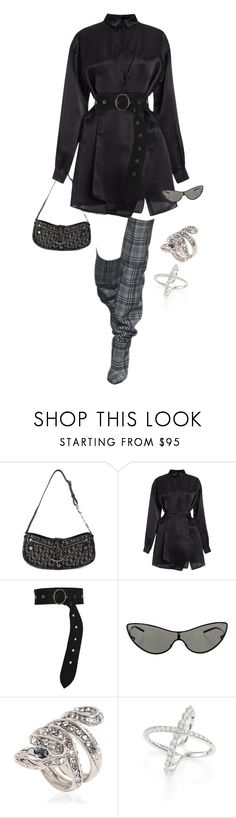 """""""Untitled #4370"""" by kimberlythestylist ❤ liked on Polyvore featuring Christian Dior, N°21, Dorothee Schumacher, Gucci, Roberto Cavalli and Hearts on Fire"""