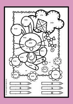 World's Fastest Mental Math Method Easter Activities, Spring Activities, Math Activities, Teaching Kindergarten, Preschool, Singapore Math, Math Addition, Animal Coloring Pages, Math For Kids