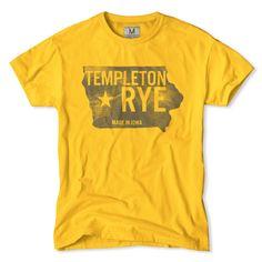 Templeton Rye Whiskey Iowa T-Shirt