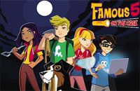 """""""Famous 5: On the Case"""" is a British Disney Channel Original Series (much funnier than a lot of the American DCOS's). It lasted 26 episodes and is on Qubo."""