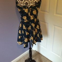 Floral navy dress Floral navy Dresses Midi