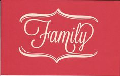 Word Wall Decal  Family by SpecialCuts on Etsy, $4.00
