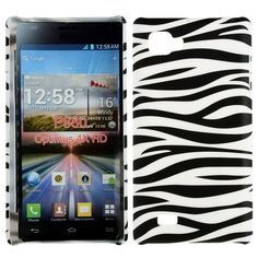Safari (Zebra Horisontal) LG Optimus 4X HD Case