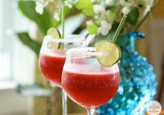 Watermelon Margaritas !!