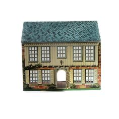 Vintage Tin Litho Dollhouse Bucks County PA by #lakesidecottage #etsy #virtuosoetsy #tvteam