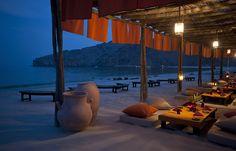 Shua Shack Authentic Arabic Dining Experience. Six Senses Zighy Bay, Oman. © Six Senses