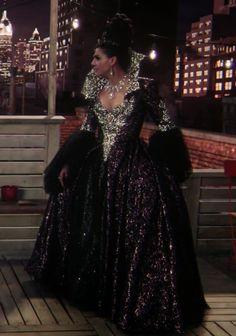 Evil Queen Regina Mills dress from the S5 finale