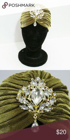 Vintage Turban Turban with vintage pendant Accessories Hats