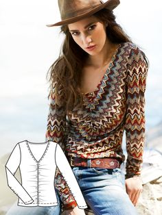 Read the article 'Wanderlust: 9 New Women's Sewing Patterns' in the BurdaStyle blog 'Daily Thread'.