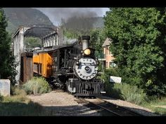 Parade of Steam Trains - Durango and Silverton Railroad