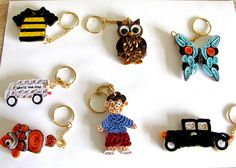 Keyrings (2) by yorkshirelass49, via Flickr