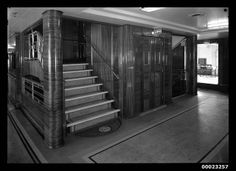 Stairs and lift on TSS AWATEA | Flickr - Photo Sharing!