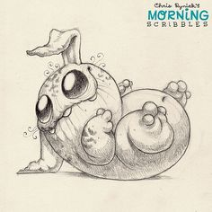Did you hear that? #morningscribbles | 출처: CHRIS RYNIAK