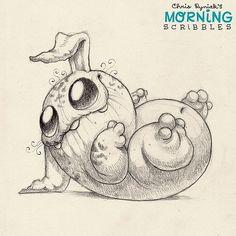 Did you hear that? #morningscribbles | 출처: CHRIS RYNIAK