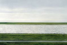 "©Andreas Gursky - ""Rhein II"", 1999 (detail) Most expensive photograph                                                                                                                                                     More"