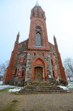 Viljandi Pauluse kirik (St. Paul's church in Viljandi), Estonia