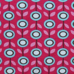 Bio Interlock Daisy pink von PinkPeppa auf DaWanda.com