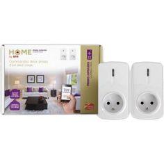 Grâce à ce pack de deux prises jumelées connectées, vous prenez le contrôle de l'éclairage de votre maison comme par magie #SFR #NoelSFR #HomeBySFR #Domotique