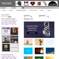 awesome desktop, iPhone, etc. wallpapers for free! - http://pixelgirlpresents.com/desktops