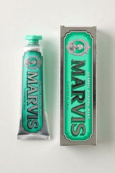 Marvis #toothpaste #packaging inspiration