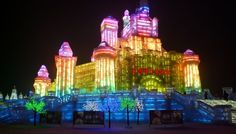 Majestic Sculptures From The Harbin International Ice And Snow Festival, Heilongjiang, China Harbin, Snow Sculptures, Metal Sculptures, Wood Sculpture, Bronze Sculpture, China World, Ice Art, Ice Castles, Snow And Ice