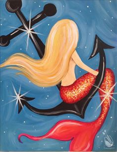 How to Paint Shimmering Mermaid ~Seats Added!~