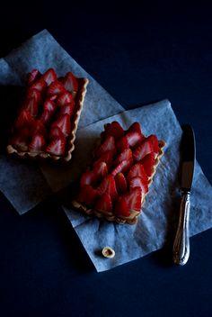 Mon petit bistrot: Tarte chocolat dulcey (una ricetta di Frédéric Bau)