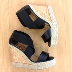 Elevate your style in these amazing wedges!