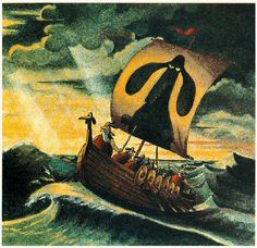 """""""Through the Storm"""" from """"Wiener Dog Art"""" by Gary Larson"""