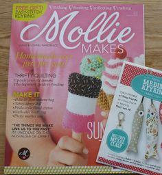 Mollie Makes Ausgabe 29 + Extra von zakkaya-stoffe auf DaWanda.com
