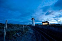 Windswept Cape Cod is home to nearly 20 lighthouses, a beacon for romantics. The keeper's house at Race Point Lighthouse near Provincetown, pictured here, is available for vacation rental....