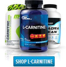 L-Carnitine take with 20-30g carbs and 30-40g protein Acetyl L Carnitine take in between meals with a caffeine/fat burning booster such as green tea.