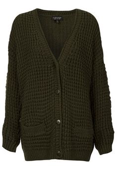 Knitted Textured Stitch Cardigan