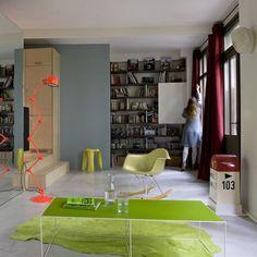 Un salon fluide et lumineux - marieclairemaison.com