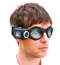 JVC Adixxion Cam features wifi, superwide angle lens, full 1920x1080P HD recording, waterproof, and shock resistant. The WiFi  for live streaming.=  the 1.5 inch display = straps connect to goggles or helmet.  JVC Adixxion Action Cam retails for $299. image from www.ultraportabletech.com