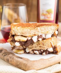 Unexpected Grilled Cheese Sandwiches: Try a Funky Monkey Grilled Cheese that's a delicious sweet treat. Mix cream cheese with peanut butter, hazelnut spread and honey. Then add mini marshmallows and banana slices on top of brioche bread. What you'll get is heaven in a sandwich.