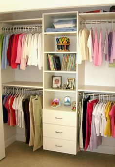 Is your closet overstuffed with clothes? Consider a custom closet organization system designed to fit your storage needs.  A custom system will provide you the best options for your closet design and appearance making sure your new closet is just what you wanted.