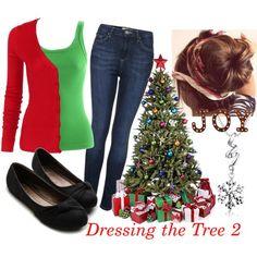 """Dressing the Tree 2"" by veradediamant on Polyvore"