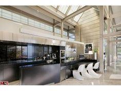 Sleek yet modern futuristic kitchen #KitchenEssentials #VIPLiving #Kitchen