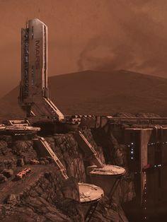 """Mass Effect 3 (BioWare, 2012)""""Planet Dust"""""""