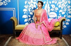 How many of you started a Pinterest board dedicated to Indian bridal fashion the day your wedding date was fixed?  We would not be surprised if we heard a resounding yes from every single one of you! ....... Discover more articles here: http://strandofsilk.com/indian-fashion-blog