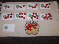 Apple Trees and Apple Blossoms Unit Great number recognition and counting game.