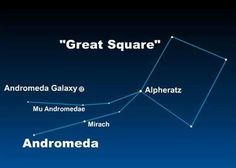 Come to know this star and be one step further along the path of finding the Andromeda galaxy.