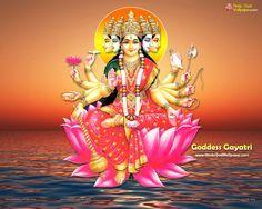 Panchmukhi Gayatri Wallpaper Free Download