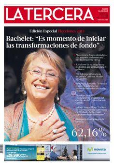 16 de diciembre 2013: Michele Bachelet y su segunda vezp...
