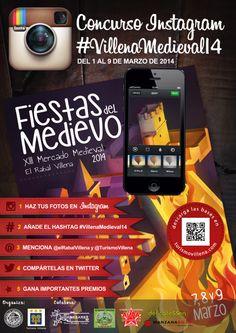 """""""Concurso #VillenaMedieval14""""  Captura las Fiestas del Medievo a través de Instragram  #villena Fiestas del Medievo. Mercado Medieval Villena"""